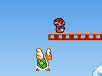 Флеш игра Супер Марио в замке Боузера