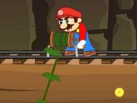 Флеш игра Супер Марио золотоискатель