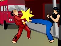 Флеш игра Супер боец