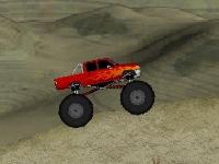 Флеш игра Супер экстремальный грузовик монстр