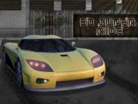 Флеш игра Супер гонка 3D