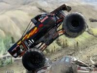 Флеш игра Супер гонка на грузовике монстре 3