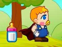 Флеш игра Супер ребенок