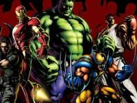 Флеш игра Супергерои Марвел: Пазл