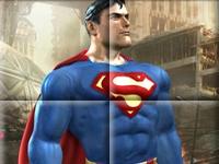 Флеш игра Супермен: Пазл