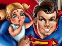 Флеш игра Супермен: стальной мужчина