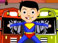 Флеш игра Суперсила: Найди отличия