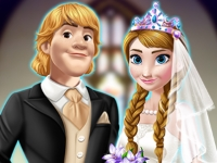 Флеш игра Свадьба Анны и Кристоффа