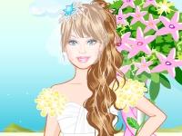 Флеш игра Свадьба Барби и Кена на побережье