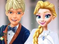 Флеш игра Свадьба мечты для Эльзы