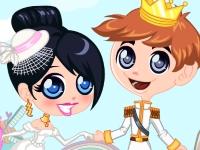 Флеш игра Свадьба принца и принцессы