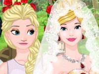 Флеш игра Свадьба принцессы: Классика или креатив