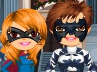 Флеш игра Свадьба супер героев