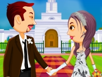 Флеш игра Свадьба в стиле Калифорния