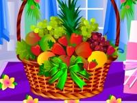 Флеш игра Свадебная корзина с фруктами