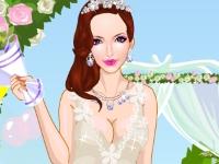 Флеш игра Свадебная одевалка
