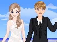 Флеш игра Свадебные фото на яхте