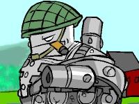 Флеш игра Сварливый танк