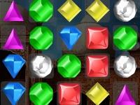 Флеш игра Сверкающие камни