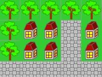 Флеш игра Свет в деревне
