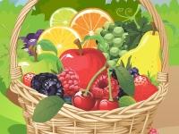 Флеш игра Свежие фрукты: Найди пару