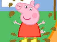 Флеш игра Свинка Пеппа в грязи: Пазл