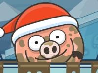 Флеш игра Свинья в луже 3