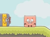 Флеш игра Свинья в луже