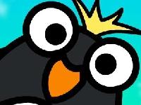 Флеш игра Свободное падение пингвина