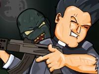 Флеш игра Священник против зомби