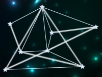 Флеш игра Связь между звездами