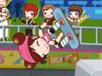 Флеш игра Сью на скейтборде