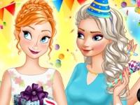 Флеш игра Сюрприз на день рождение Анны