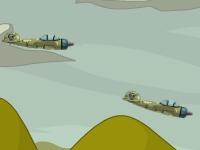 Флеш игра Танк против эскадры