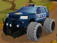 Флеш игра Техасская полиция: Гонка по бездорожью