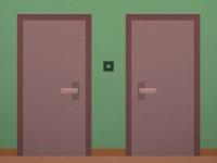 Флеш игра Темная реальность: Две двери