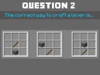 Флеш игра Тест Майнкрафт