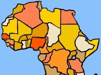Флеш игра Тест на знание Африки