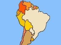 Флеш игра Тест на знание Южной Америки