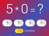 Флеш игра Тест по математике 2