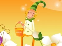 Флеш игра Тетрис-пазл с веселым клоуном