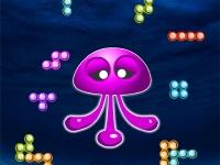 Флеш игра Тетрис с осьминогом