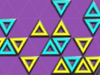 Флеш игра Тетрис с треугольниками
