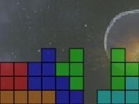 Флеш игра Тетрис среди звезд