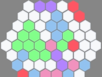 Флеш игра Тетрис в шестиугольнике