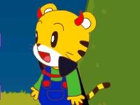 Флеш игра Тигр спасает кролика