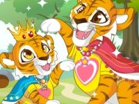 Флеш игра Тигры мама и малыш