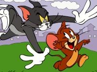 Флеш игра Том и Джерри: Пазл