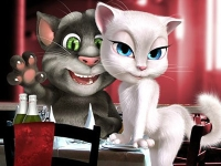 Флеш игра Том любит Анжелу: Пазл