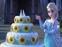 Флеш игра Торт для Эльзы